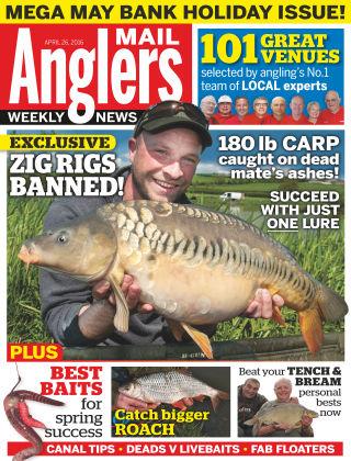 Angler's Mail 26th April 2016