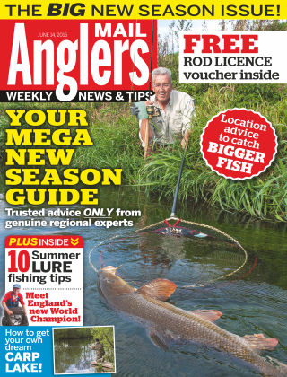 Angler's Mail 14th June 2016