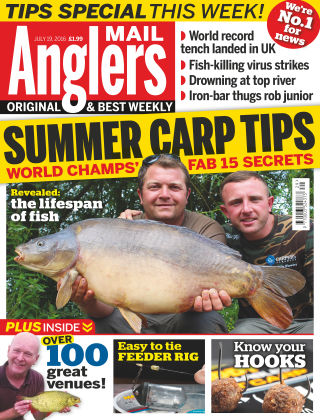 Angler's Mail 19th July 2016