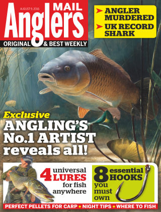 Angler's Mail 9th August 2016