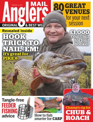 Angler's Mail 21st February 2017