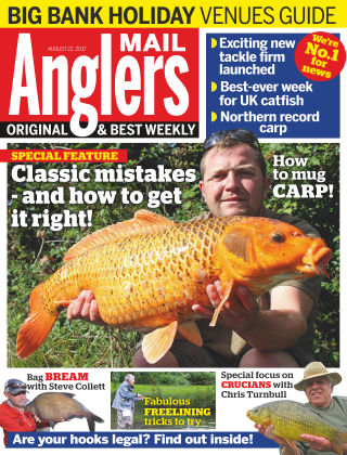 Angler's Mail 22nd August 2017