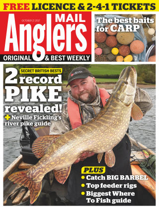 Angler's Mail 17th October 2017