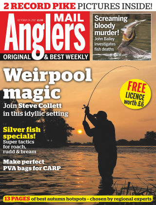 Angler's Mail 24th October 2017