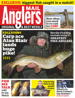 Angler's Mail 6th February 2018