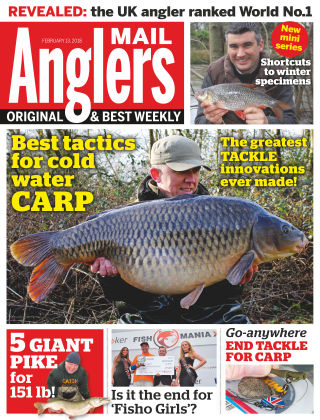 Angler's Mail 13th February 2018