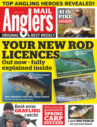 Angler's Mail 6th March 2018