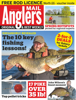 Angler's Mail 20th March 2018