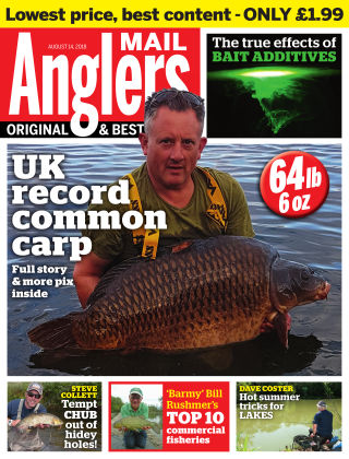 Angler's Mail 14th August 2018