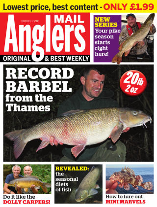 Angler's Mail 2nd October 2018