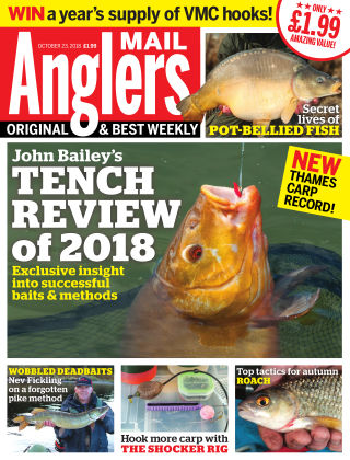 Angler's Mail 23rd October 2018