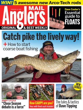 Angler's Mail Feb 12 2019