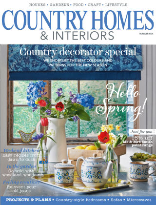 Country Homes & Interiors March 2014