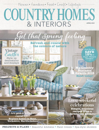 Country Homes & Interiors April 2015