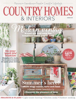 Country Homes & Interiors June 2015