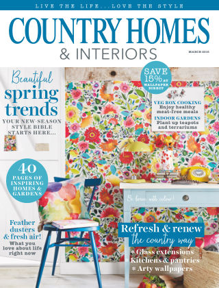 Country Homes & Interiors March 2016