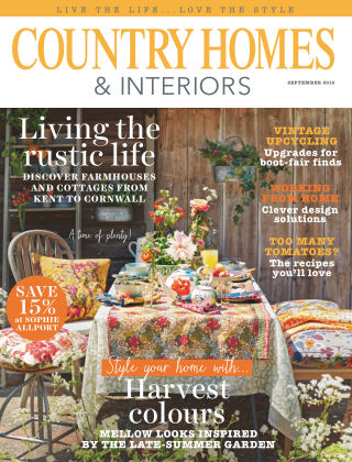 Country Homes & Interiors September 2016