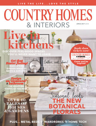 Country Homes & Interiors April 2017