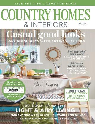 Country Homes & Interiors May 2017