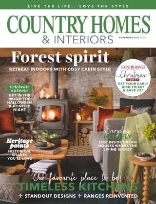 Country Homes & Interiors Nov 2017
