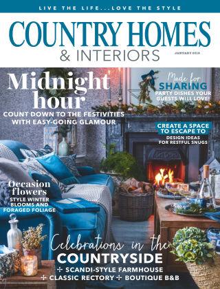 Country Homes & Interiors Jan 2018