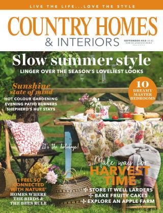 Country Homes & Interiors Sep 2018