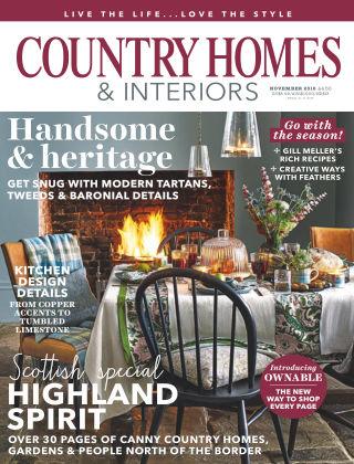 Country Homes & Interiors Nov 2018