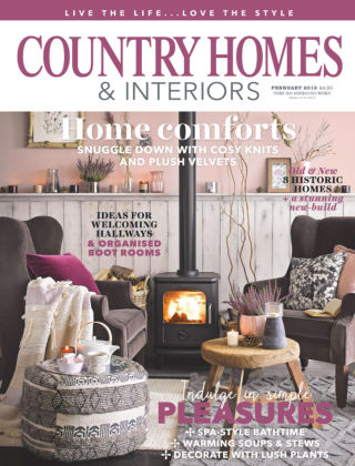 Country Homes & Interiors Feb 2019