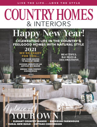 Country Homes & Interiors January 2021