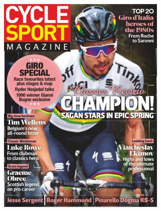 Cycle Sport Magazine July 2016