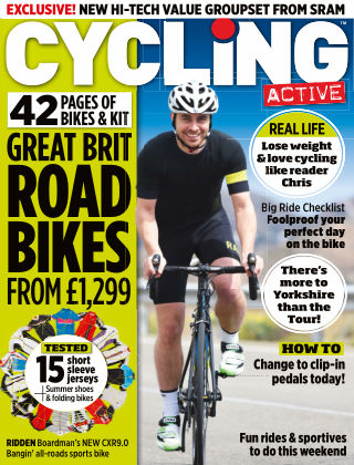 Cycling Active August 2014