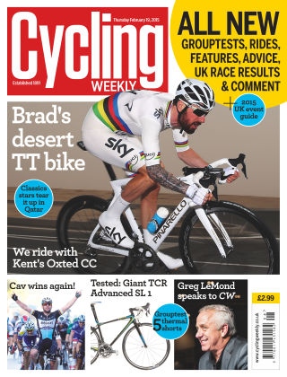 Cycling Weekly 19th February 2015