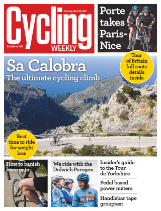 Cycling Weekly 19th March 2015