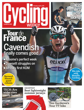 Cycling Weekly 16th July 2015