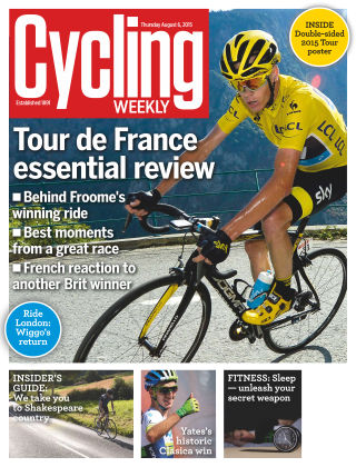 Cycling Weekly 6th August 2015