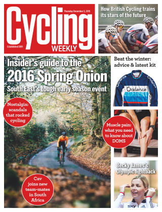 Cycling Weekly 3rd December 2015