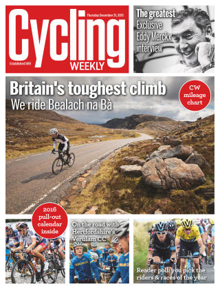 Cycling Weekly 31st December 2015