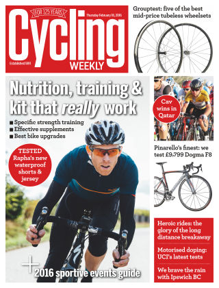 Cycling Weekly 18th February 2016