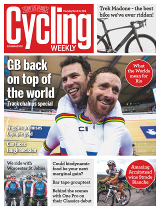 Cycling Weekly 10th March 2016