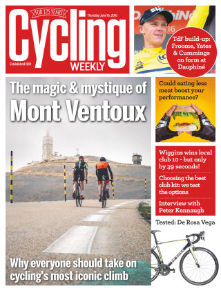 Cycling Weekly 16th June 2016