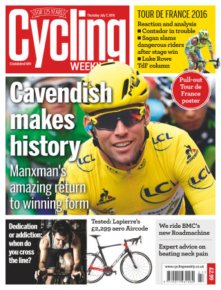 Cycling Weekly 7th July 2016