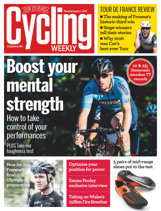 Cycling Weekly 4th August 2016