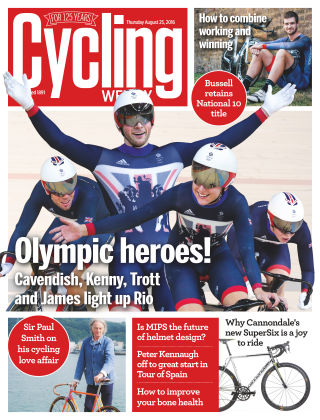 Cycling Weekly 25th August 2016