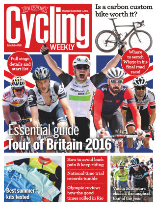 Cycling Weekly 1st September 2016