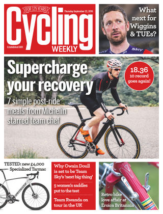Cycling Weekly 22nd September 2016