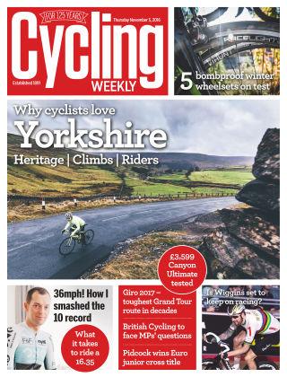 Cycling Weekly 3rd November 2016