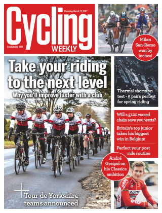 Cycling Weekly 23rd March 2017