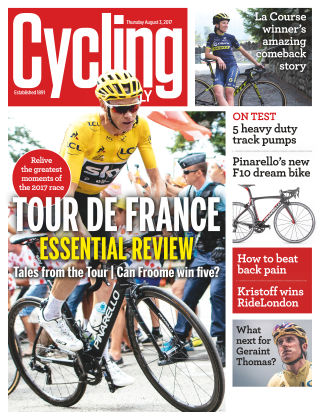 Cycling Weekly 3rd August 2017