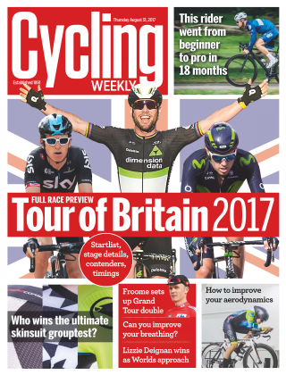 Cycling Weekly 31st August 2017