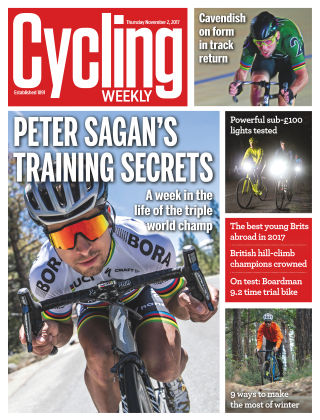Cycling Weekly 2nd November 2017